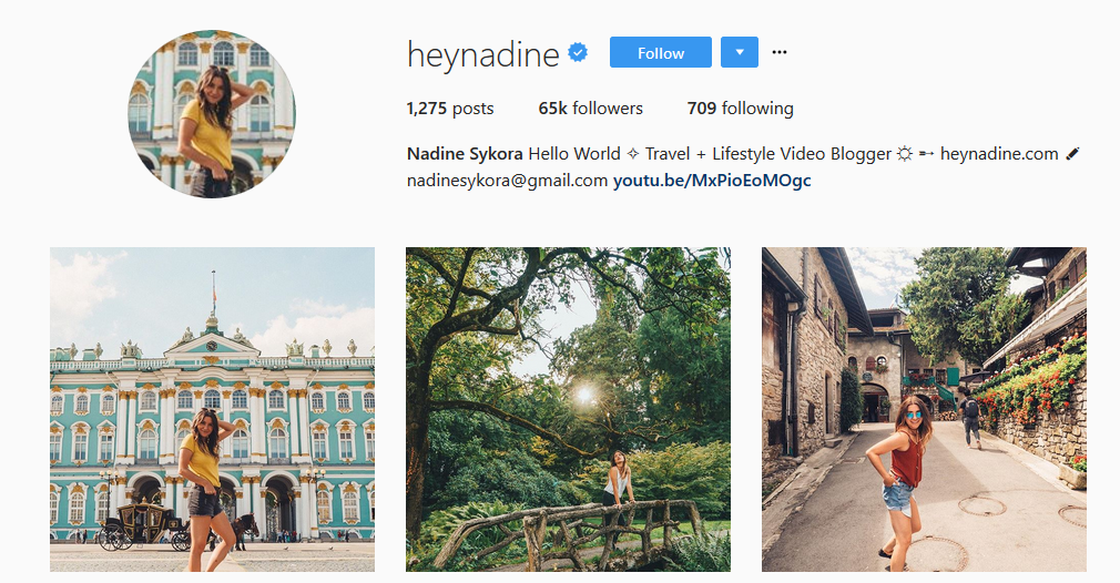 heynadine - Best Travel Blogs To Explore The Globe With – 2018